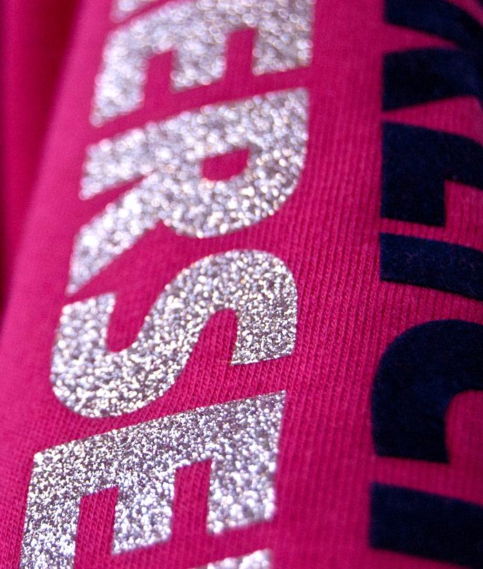 Kids Hoodie Brand Pink Diamant | Detail