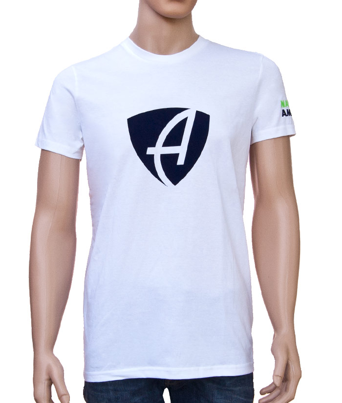T-Shirt Brand White | Front