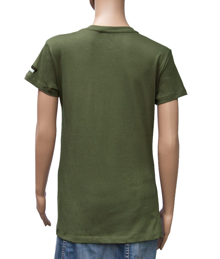 T-Shirt Brand Khaki | Back
