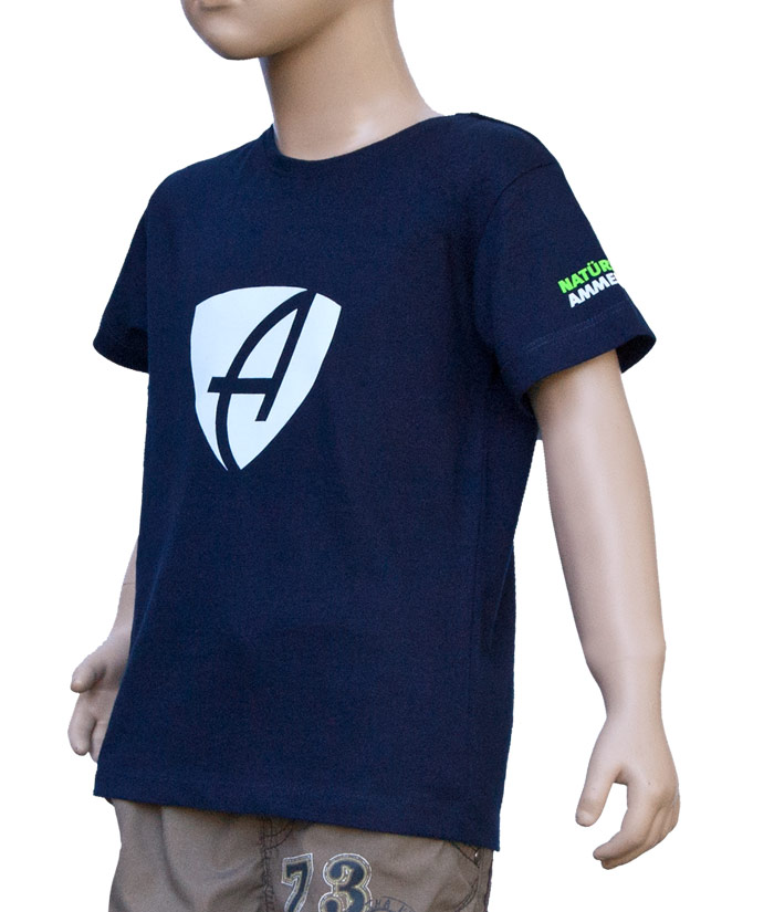 T-Shirt Brand Navy | Side