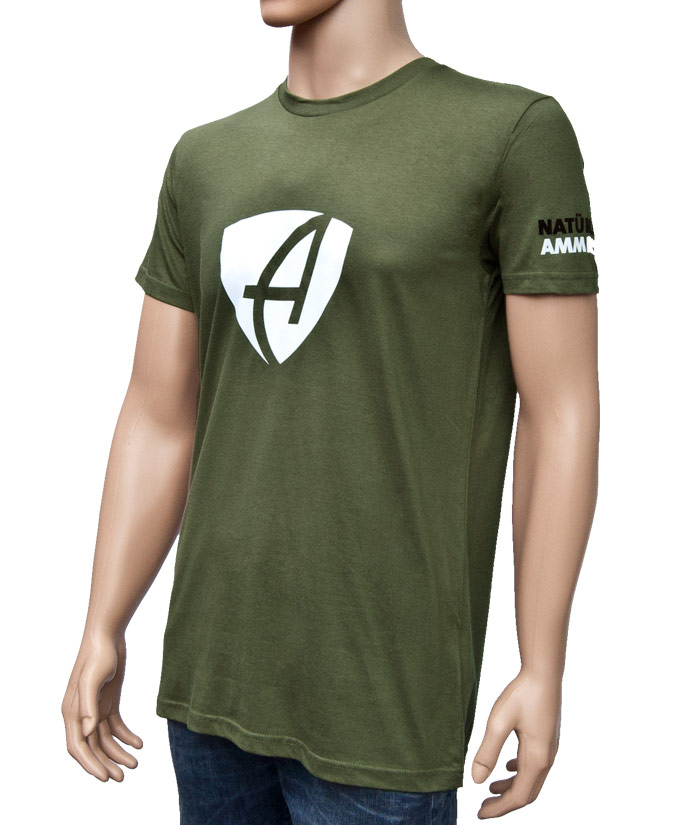 T-Shirt Brand Khaki | Side