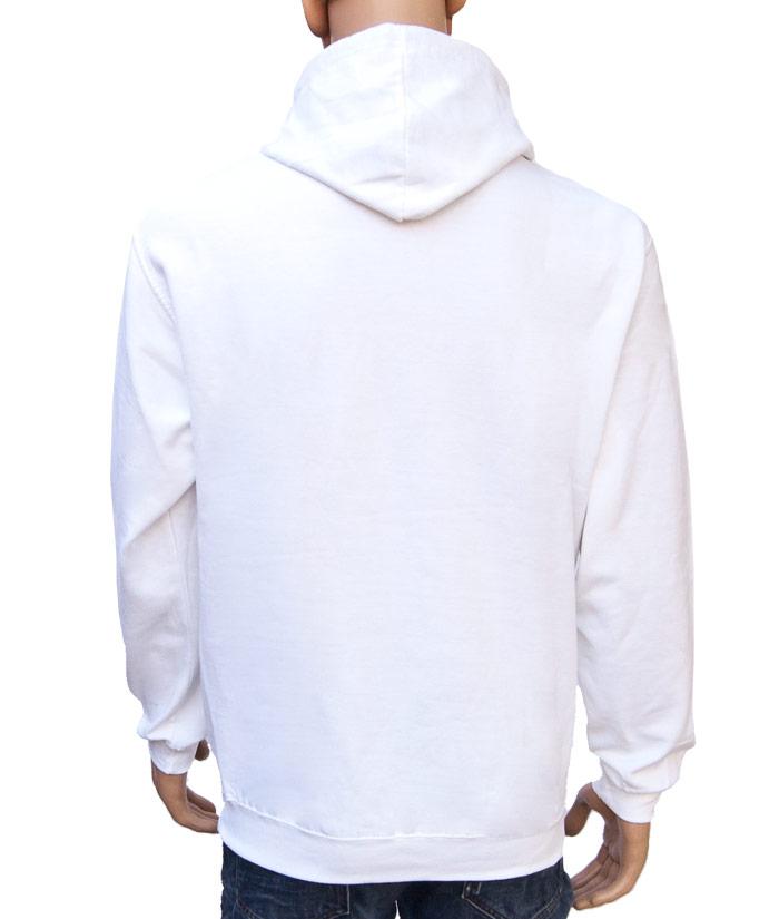 Hoodie Brand White | Back