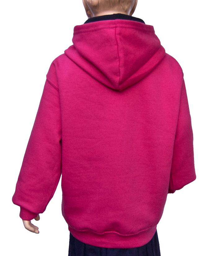 Kids Hoodie Brand Pink Diamant | Back