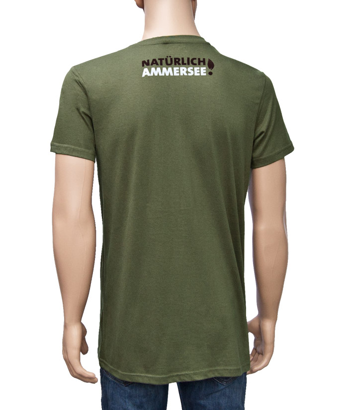 T-Shirt Gentle Khaki | Back