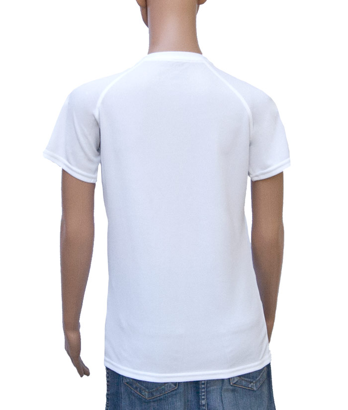 Funktions-Shirt Gentle White | Back