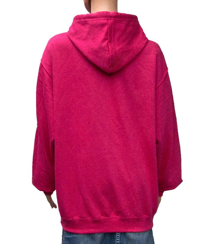 Hoodie Brand Pink | Back