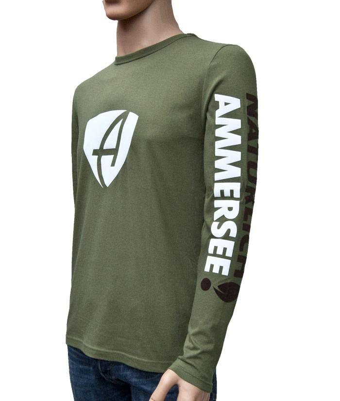 Longsleeve Brand Khaki | Side