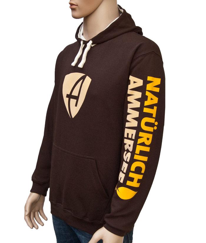 Hoodie Brand Choco | Side