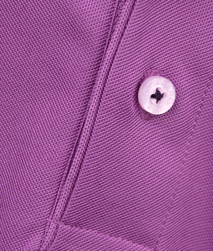 Polo-Shirt Gentle Flieder | Detail