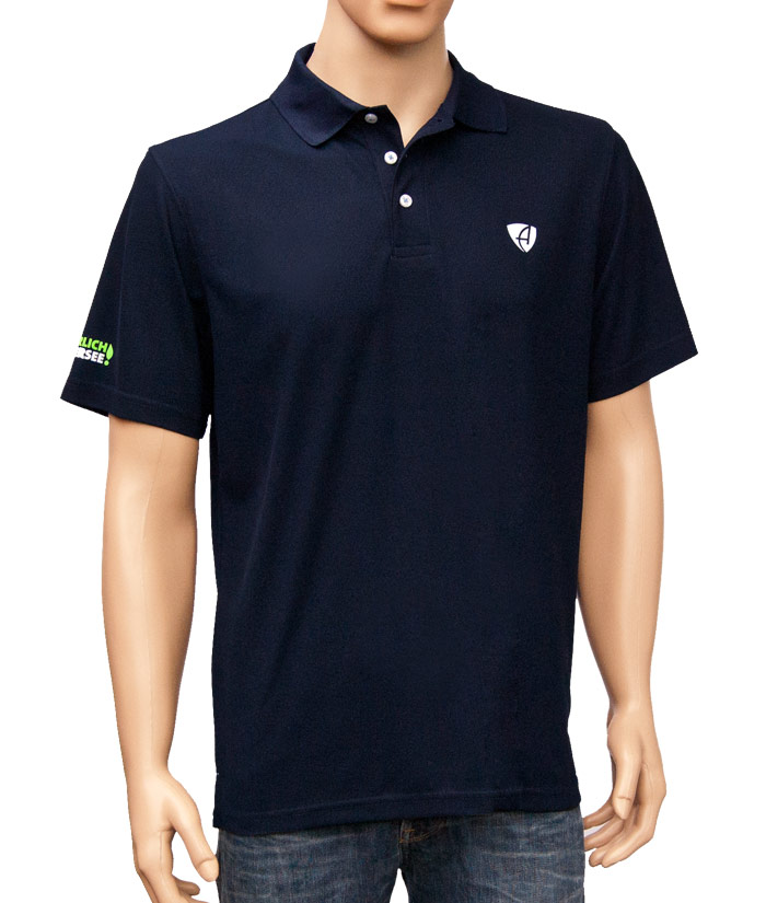 Polo-Shirt Gentle Navy | Front