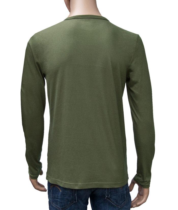 Longsleeve Gentle Khaki | Back