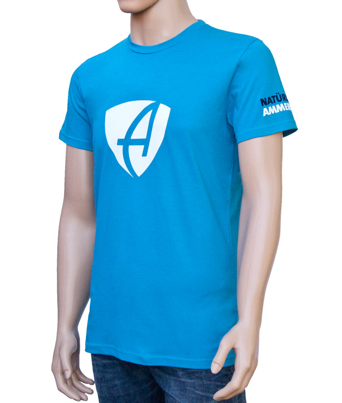 T-Shirt Brand Blue | Side