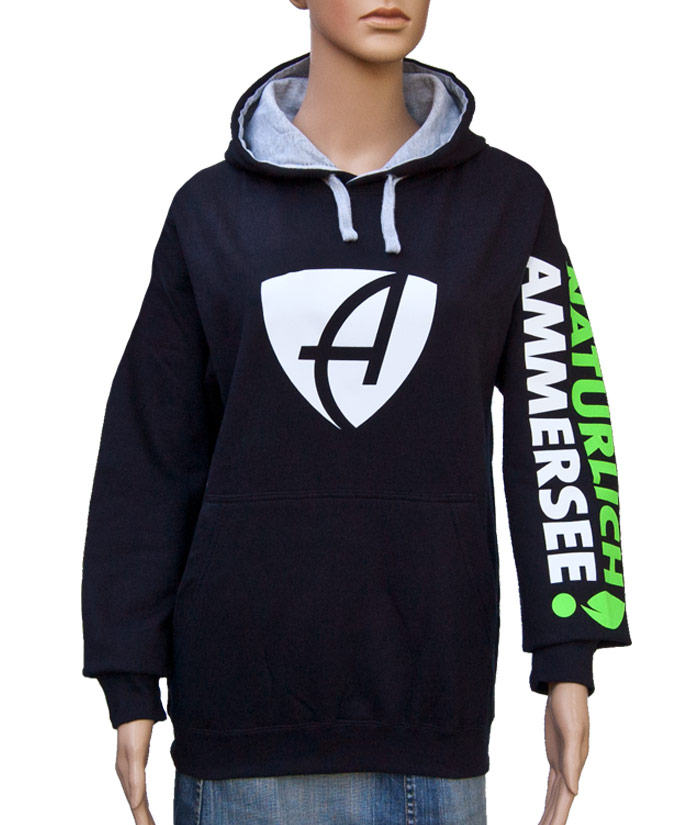 Hoodie Brand Navy | Front