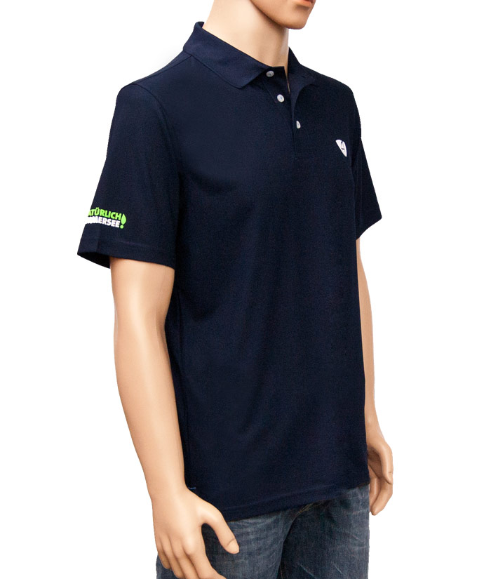 Polo-Shirt Gentle Navy | Side