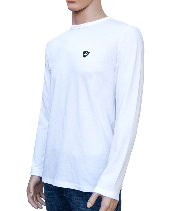 Longsleeve Gentle White | Side