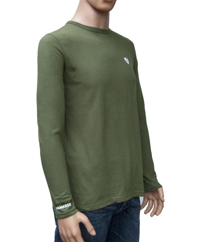 Longsleeve Gentle Khaki | Side