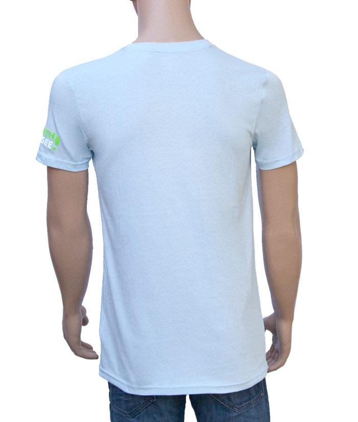T-Shirt Brand Iceblue | Back