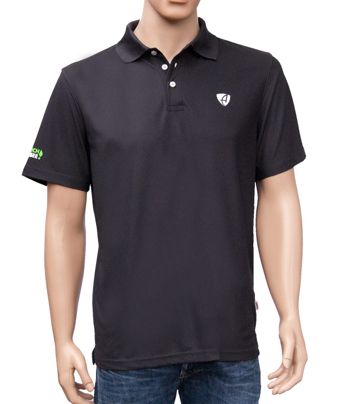 Polo-Shirt Gentle Antrazit | Front