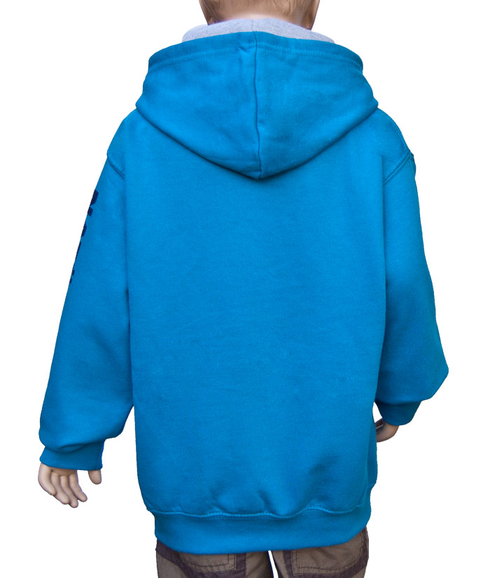 Kids Hoodie Brand Nightlight | Back