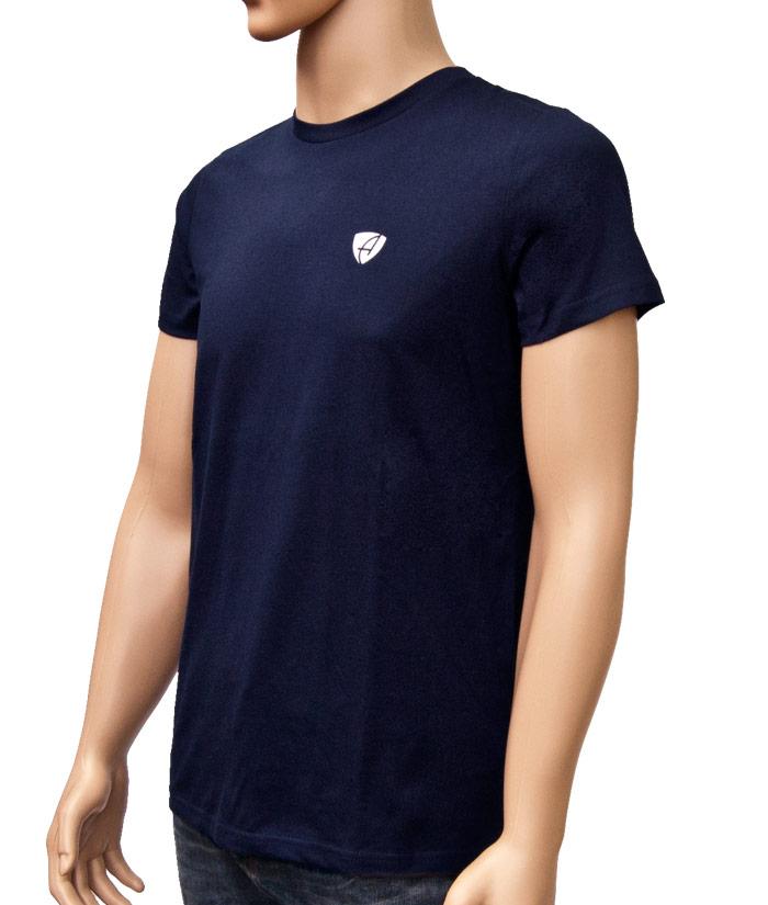 T-Shirt Gentle Navy | Side