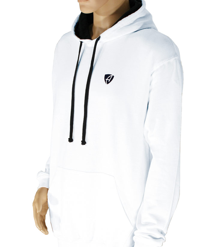 Hoodie Gentle White | Front