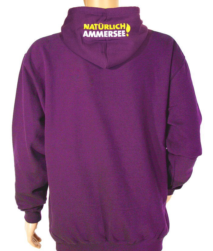 Hoodie Gentle Purple | Back