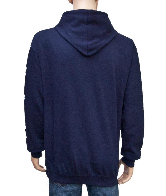 Hoodie Brand Blue | Back