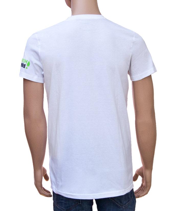 T-Shirt Brand White | Back