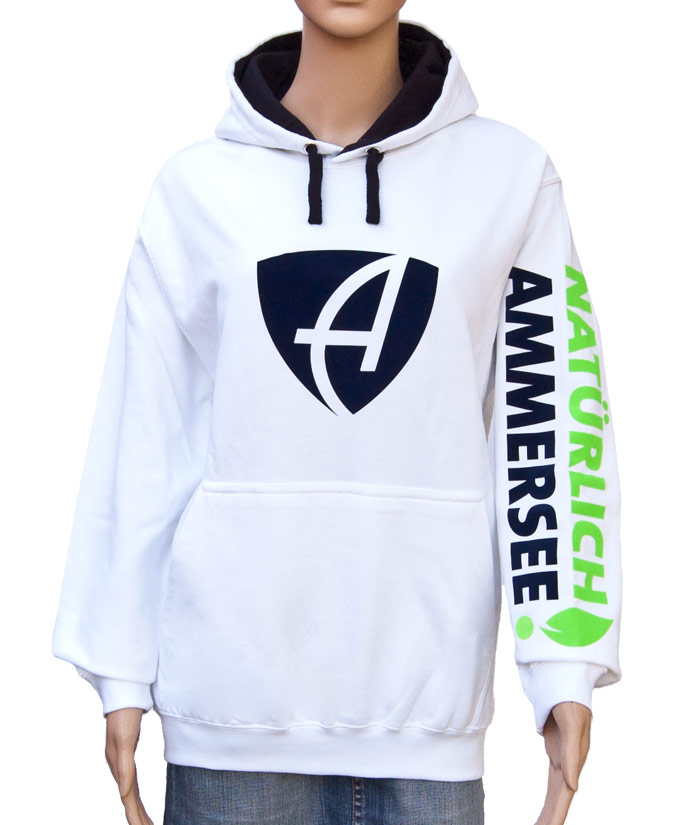 Hoodie Brand White | Front