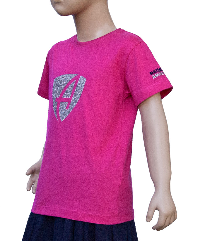 T-Shirt Brand Pink Diamant | Side