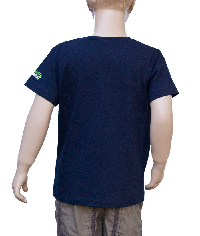T-Shirt Brand Navy | Back