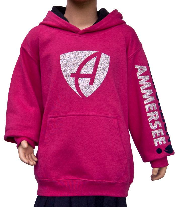 Kids Hoodie Brand Pink Diamant | Front