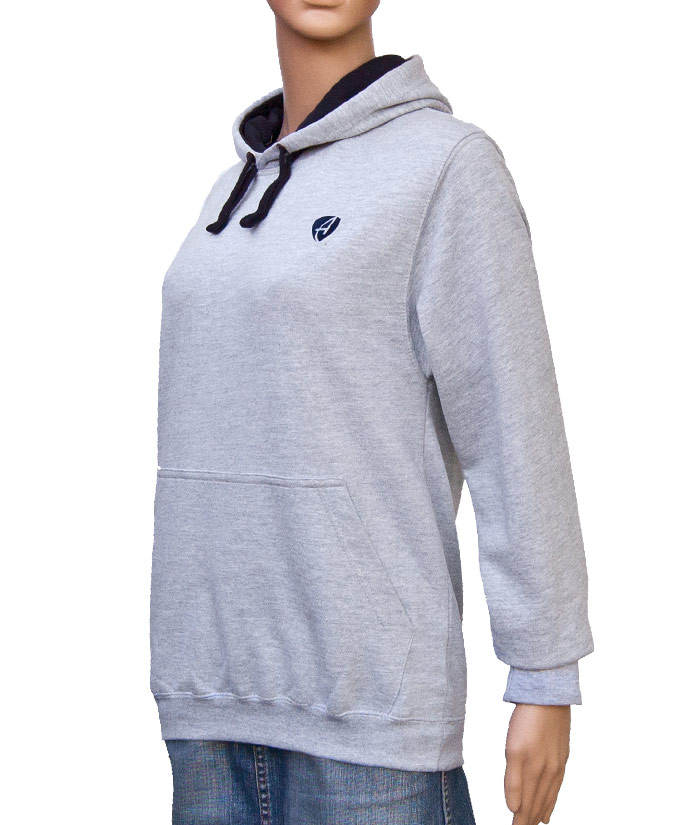 Hoodie Gentle Grey | Side