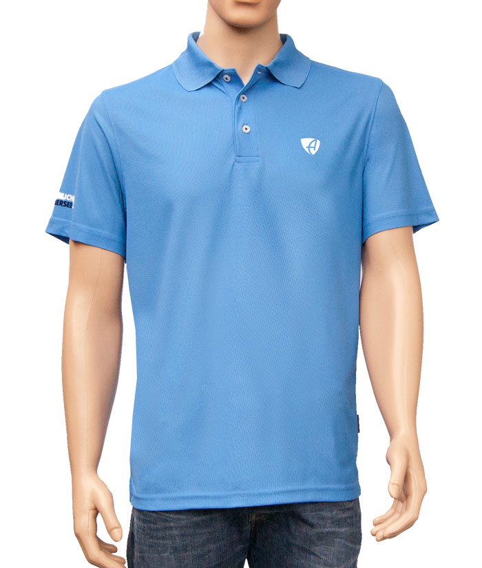 Polo-Shirt Gentle Blue | Front