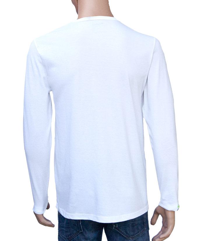 Longsleeve Gentle White | Back