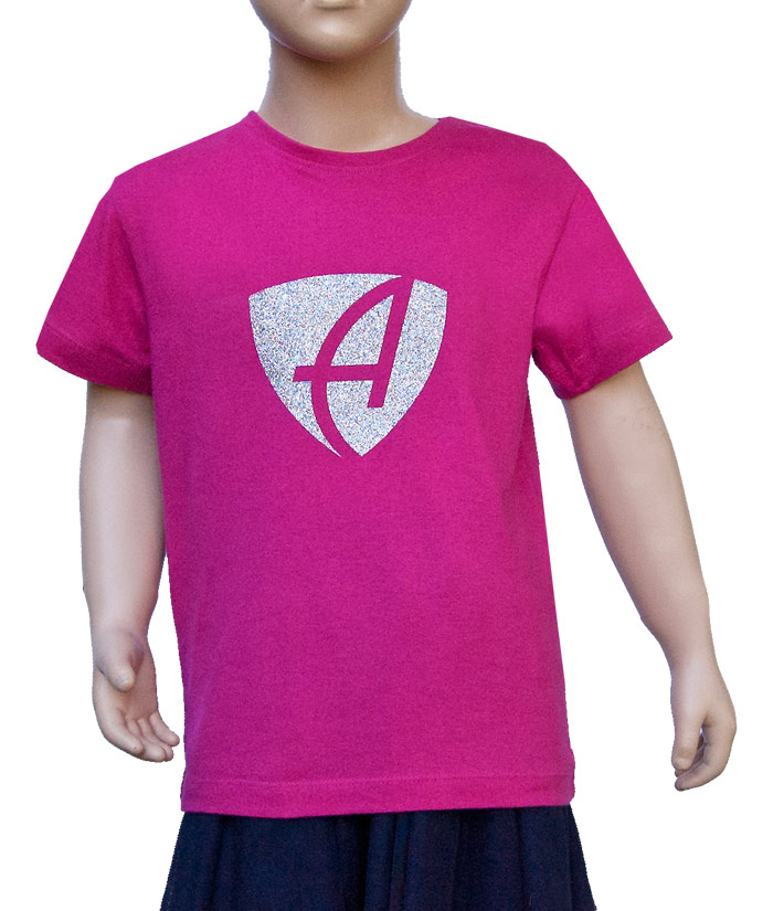T-Shirt Brand Pink Diamant | Front