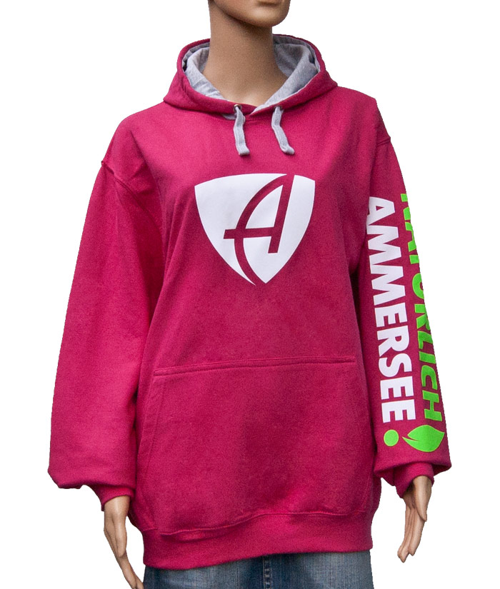 Hoodie Brand Pink | Front