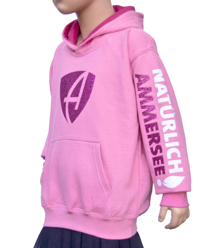 Kids Hoodie Brand Princess | Side