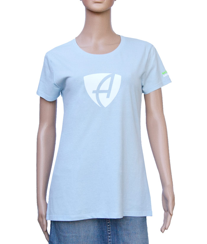 T-Shirt Brand Iceblue | Front