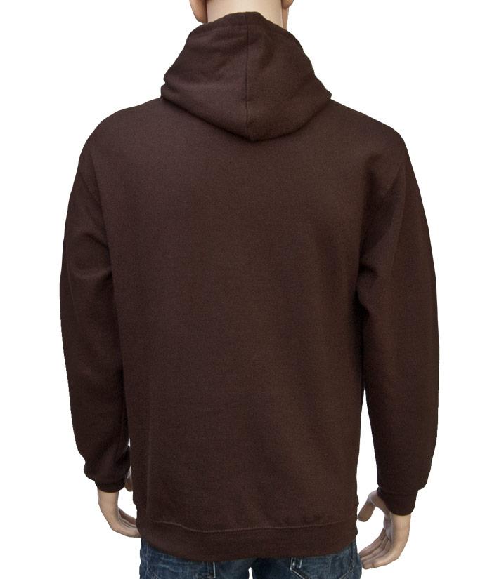 Hoodie Brand Choco | Back