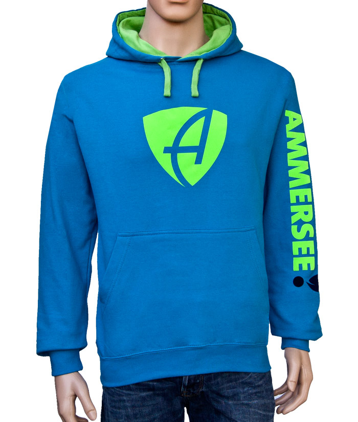Hoodie Brand Skyblue | Front