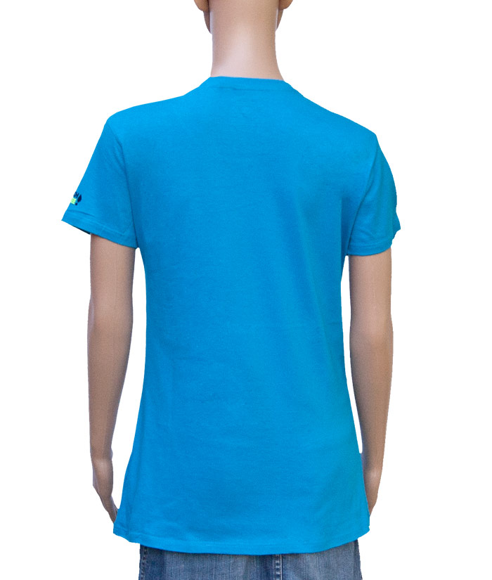 T-Shirt Brand Sky | Back