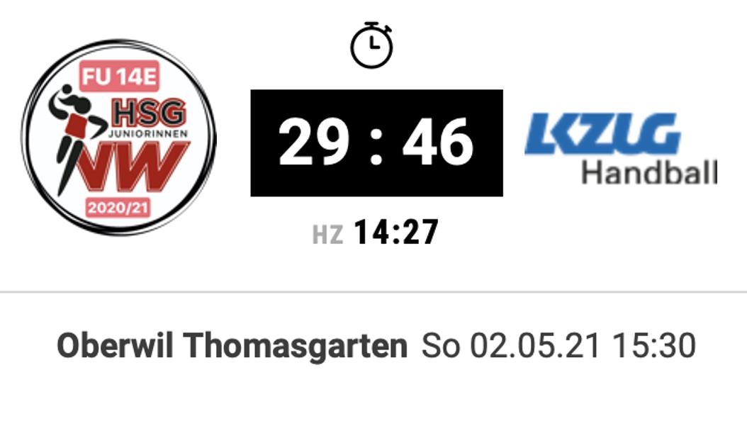 Matchbericht: Keine Punkte bei der Revanche gegen LK Zug