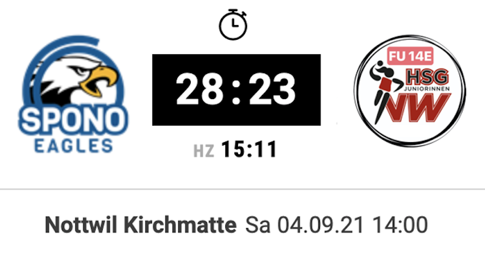 Matchbericht: Saisonstart gegen Spono!