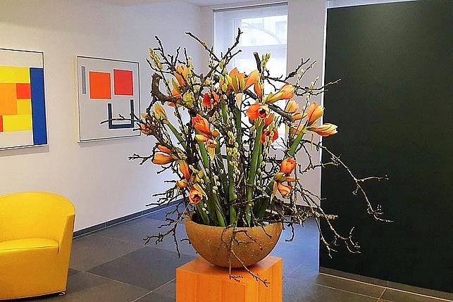 Blumen Arbeitsbeginn, Blumen Begrüssung, Blumen Eintritt, Blumen Jubiläum, Blumen Arbeitsende, Blumen Austritt, Blumen Abschied, Blumen Lehrabschluss, Blumen Diplom, Blumen Bachelor, Blumen Promotion