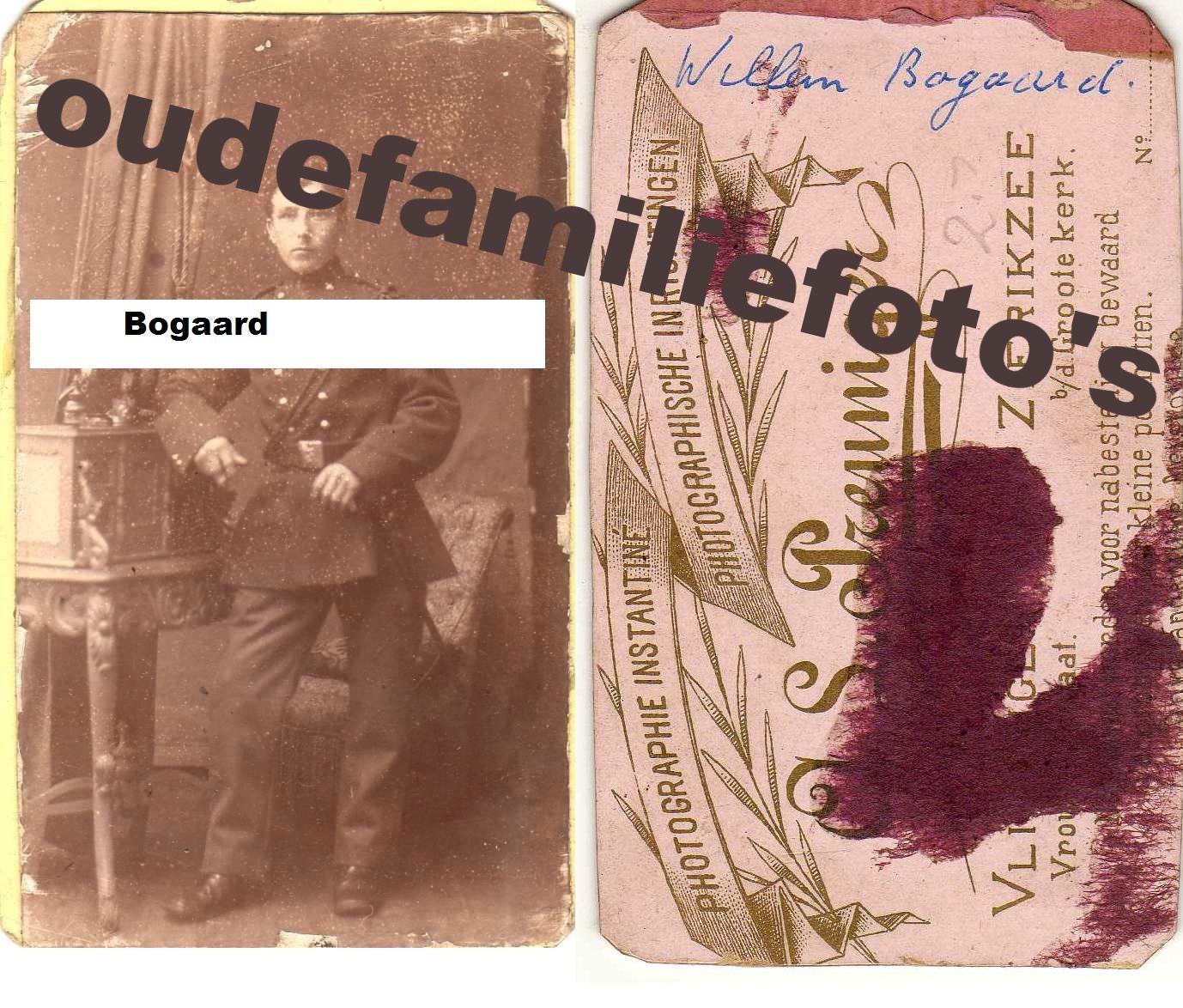 Bogaard, Willem € 3,00