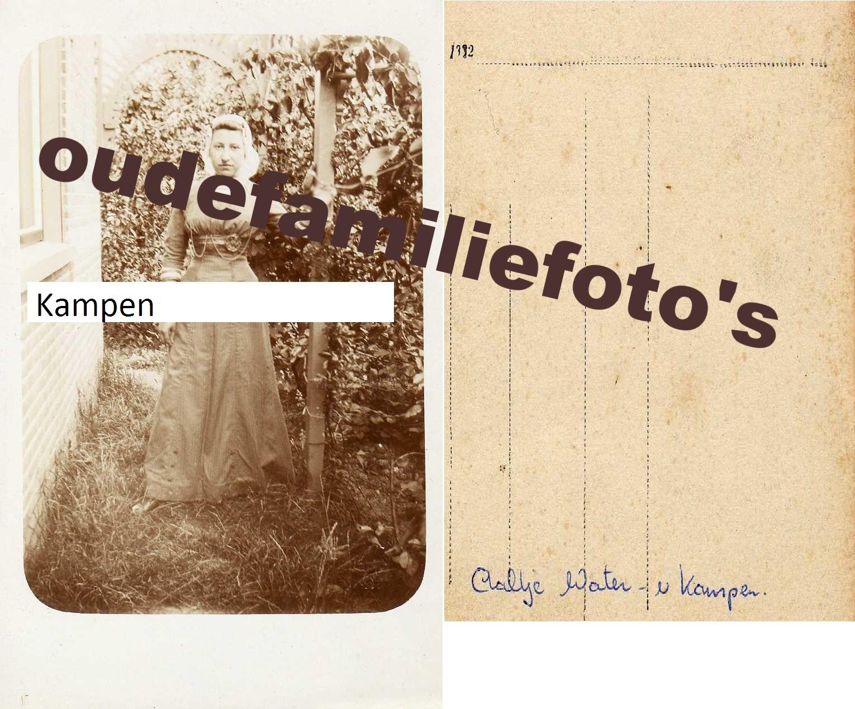 Kampen van, Aaltje. geboren: 3-10-1890 Westwoud getrouwd met Pieter Water € 2.50