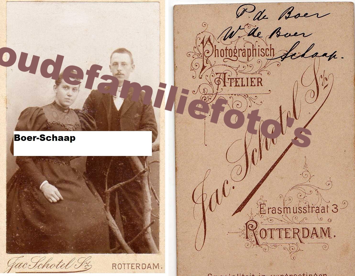 Schaap, W getrouwd met P. Boer € 3,00