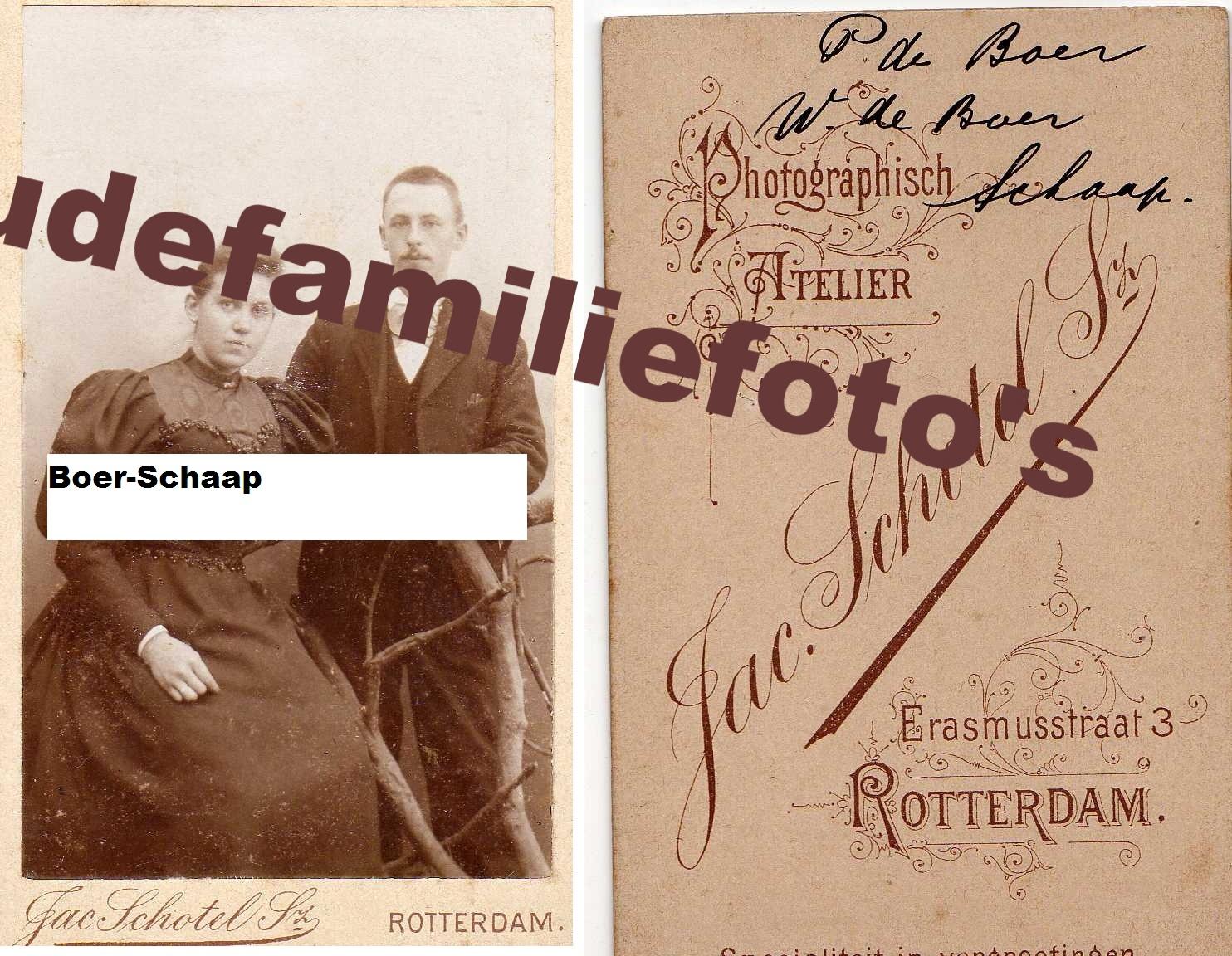 Boer, P -Schaap, W  € 3,00