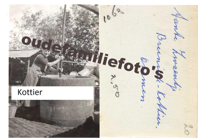 Kottier, Zwaantje geb. 14-11-1886 Ommen getrouwd met Henderik Brunink € 2,00